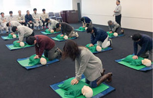 Lifesaving Training Approximately 30 employees take the course each year